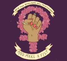 Make a fist Womens Fitted T-Shirt