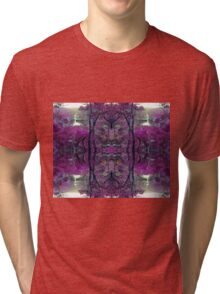Mermaid Ponds Mandala Tri-blend T-Shirt