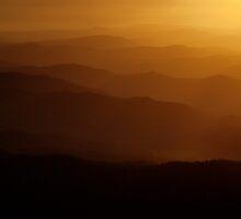 Mountain Light II by S T