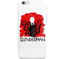 slenderman iPhone Case/Skin