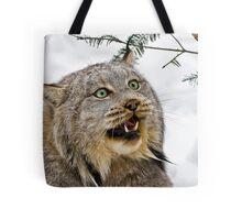 Yeti....Canadian Lynx  Tote Bag