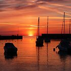 Easter Morning in Bray Harbour Co.Wicklow Ireland by Aoife McNulty
