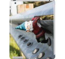 Guard Rail Gnome I iPad Case/Skin