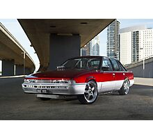 Candy Holden Commodore VL Turbo Photographic Print