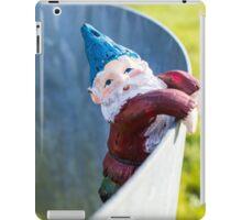 Curved Rail Gnome iPad Case/Skin