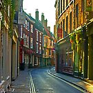 Low Petergate - York by Trevor Kersley