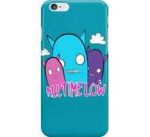 all time low monsters iPhone Case/Skin