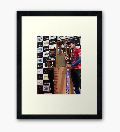 winners Framed Print