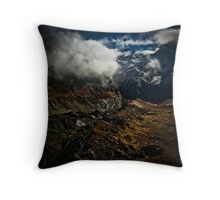 Ice Flow - V Throw Pillow