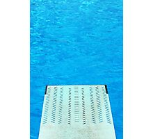 Diving Board 24 Photographic Print