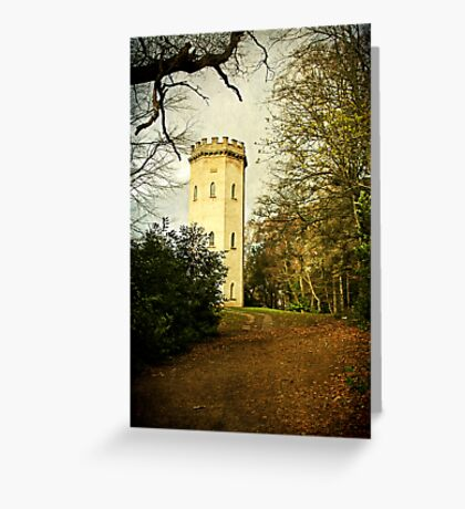 Nelson's Tower, Forres Greeting Card