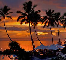 Days ending - Fiji by Hans Kawitzki