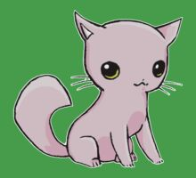 Myu the Candyfloss Cat Baby Tee