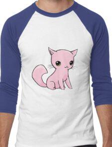 Myu the Candyfloss Cat Men's Baseball ¾ T-Shirt