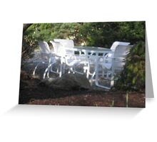 A Secluded Place for a Luncheon Greeting Card
