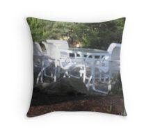 A Secluded Place for a Luncheon Throw Pillow