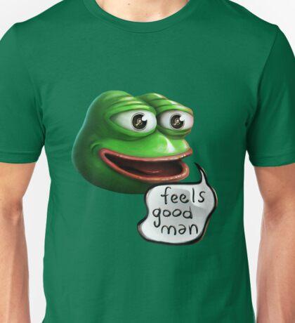 Feels Good Man - Pepe the Frog HD realistic Unisex T-Shirt