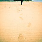 [Live] Footprints in the sand by AuroraPhoto