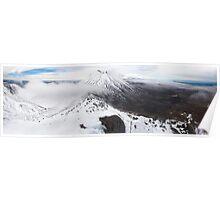 Tongariro National Park  Poster