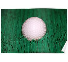 Golfball Poster