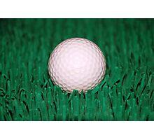Golfball Photographic Print