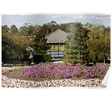 View To The Pagoda - Hunter Valley Gardens Series Poster