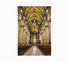 Milan Cathedral, ITALY - Interior Decoration: 1575-1585 Unisex T-Shirt