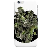 Metal Gear Solid Snake Eater (2) iPhone Case/Skin