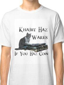 Khajiit Haz Wares - V.2 Classic T-Shirt