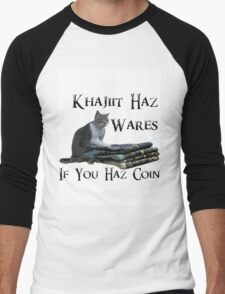 Khajiit Haz Wares - V.2 Men's Baseball ¾ T-Shirt