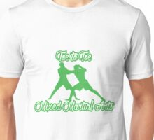 Toe to Toe Mixed Martial Arts Black Green  Unisex T-Shirt