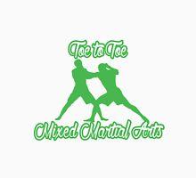 Toe to Toe Mixed Martial Arts Black Green  T-Shirt