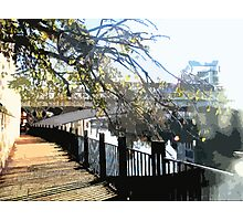 Clear Embankment Photographic Print
