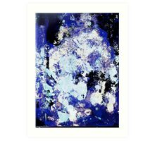 Non Figurative Painting does not mean abstract Art Print