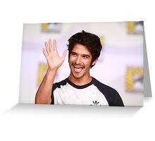 Tyler Posey Comic Con Greeting Card
