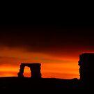 Newark Castle Sunset by Don Alexander Lumsden (Echo7)