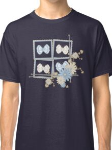 Butterfly Squares Classic T-Shirt