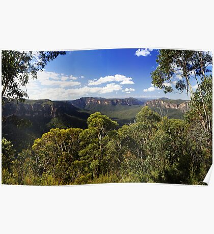 Grose Valley, Blue Mountains, NSW. Poster