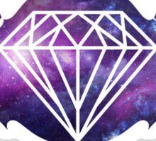 galaxy bat diamond Sticker