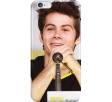 Dylan O'Brien Comic Con Smile iPhone Case/Skin