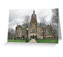 Trumbull County Courthouse Greeting Card