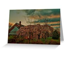 Spring in the Suburb Greeting Card