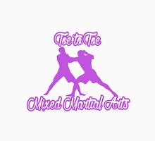 Toe to Toe Mixed Martial Arts Purple  T-Shirt