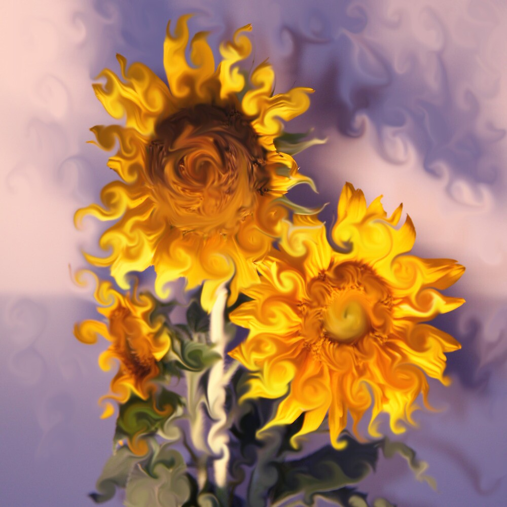 Sunflowers Arranged by Jay Reed