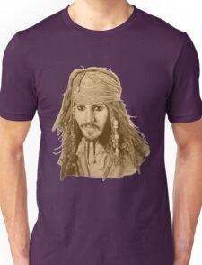 Captain Jack Sparrow (sepia) Unisex T-Shirt