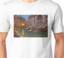 Rome's Fabulous Fountains - Trevi Fountain at Dawn Unisex T-Shirt