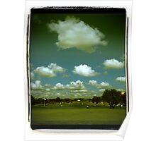 Golf Landscape Poster