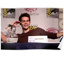 Dylan O'Brien Comic Con Smile Poster
