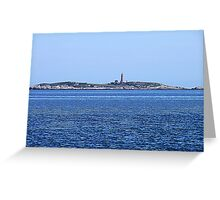 Sambro Island Light (01) Greeting Card