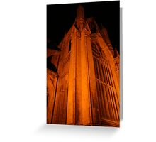 Beverley Minster at Night Greeting Card